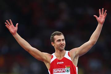 Andrei Krauchanka, winner of the decathlon at the European Championships (Getty Images)
