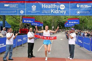 Craig Mottram (AUS) wins the Healthy Kidney 10K in New York (NYRR)