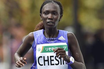 Kenyan distance runner Rebecca Kangogo Chesir (AFP / Getty Images)