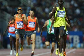 World leader David Rudisha continues his late-season run of good form with victory in the men's 800m (Getty Images)