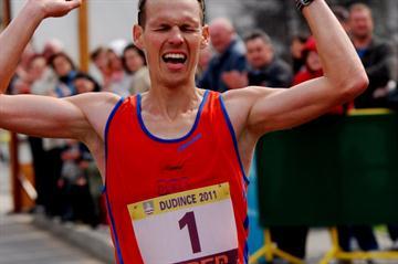 Matej Toth (SVK) 3:39:46 in Dudince (Rastislav Hrbáček)