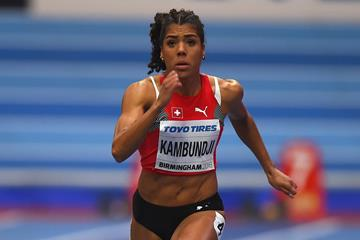 Mujinga Kambundji in Birmingham (Getty Images)