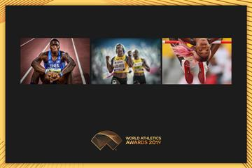 The finalists for the 2019 World Athletics Photograph of the Year award (Andrej Isakovic / Felix Sanchez Arrazola / Patrick Smith)