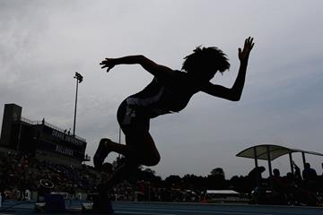 Action from the start of the 400m (Getty Images)