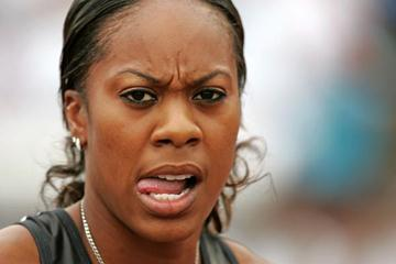 Sanya Richards after her performance at the US Championships (Getty Images)