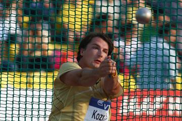 Slovenian hammer thrower Primoz Kozmus (Getty Images)