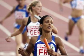 IAAF: European record holder Cristine Arron leads a 67 ...