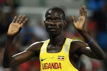 Ugandan middle-distance runner Ronald Musagala (AFP / Getty Images)