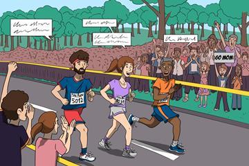 The international language of running (Christel Saneh)