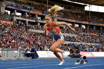 Lisanne de Witte at the European Championships (Getty Images)