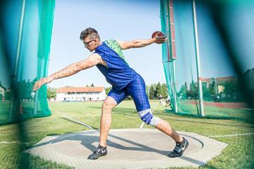 Slovenian discus thrower Kristjan Ceh (Peter Kastelic)