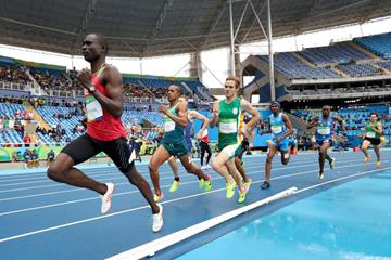 David Rudisha in the 800m heats at the Rio 2016 Olympic Games (Getty Images)