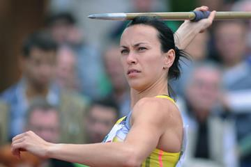 Hanna Melnychenko at the 2013 Decastar meeting in Talence (Iris Hensel)