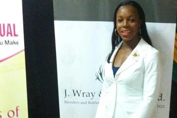 Veronica Campbell-Brown at the Jamaican Sports Awards (Alia Atkinson)