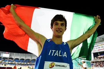 Stefano Sottile at the IAAF World Youth Championships, Cali 2015 (Getty Images)