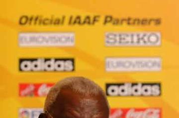 IAAF President Lamine Diack (IAAF)