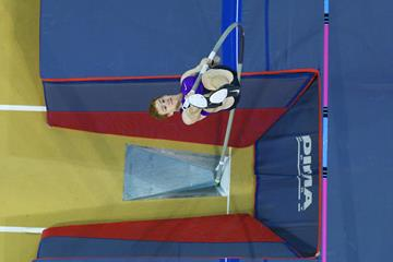 Shawn Barber at the 2016 Glasgow Indoor Grand Prix (Getty Images)