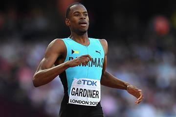 Steven Gardiner in the 400m at the IAAF World Championships London 2017 (Getty Images)