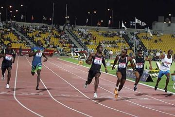 Gatlin breaks World 100m record in Doha (AFP / Getty Images)