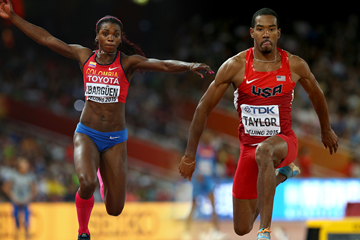 Caterine Ibarguen and Christian Taylor (Getty Images)