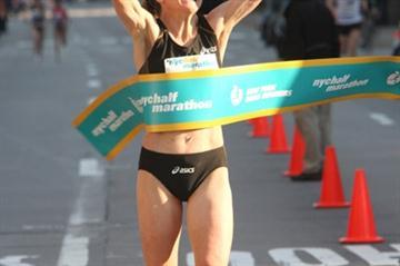 Mara Yamauchi triumphs in NYC Half Marathon (Victah Sailer)