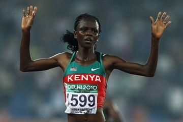 Grace Momanyi, Commonwealth 10,000m champion (Getty Images)