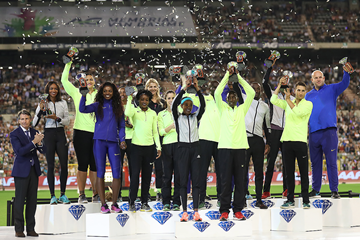 2016 Diamond Race winners from the IAAF Diamond League final in Brussels (Giancarlo Colombo)