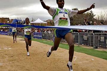 Tariku Bekele wins the 25th Cross Internacional de la Constitución' in Alcobendas (Julián Obispo)