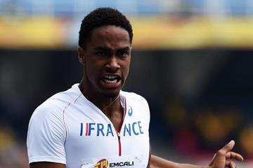 Ludovic Besson at the IAAF World Youth Championships, Cali 2015 (Getty Images)