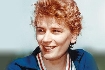 Romanian high jumper Iolanda Balas ()