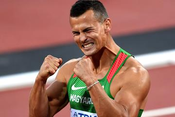 Balazs Baji at the IAAF World Championships London 2017 (Getty Images)