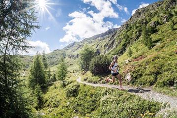 Action from the Grossglocknerlauf mountain race in Austria (WMRA)