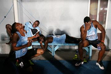 Botswana's 4x400m team at the IAAF World Relays Bahamas 2017 (Getty Images)