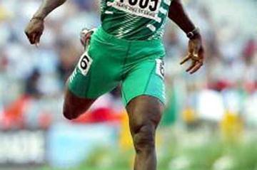 Deji Aliu (Nigeria) in Paris 2003 Saint-Denis (Getty Images)