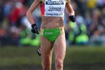 Benita Willis in action at the World Cross Country Championships in Edinburgh (Getty Images)