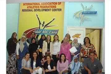 Participants of the IAAF Women's Athletics Seminar RDC Cairo (IAAF.org)