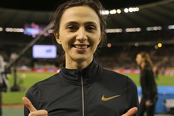 Mariya Lasitskene, 2019 Diamond Trophy winner in the high jump (Giancarlo Colombo)