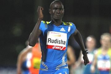 Sensational 1:43.15 2010 opener for David Rudisha at 2010 Melbourne Track Classic (Getty Images)