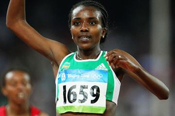 Dibaba, unparalleled in Beijing (Bongarts/Getty Images)