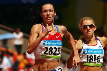 Russian 800m runner Tatiana Andrianova (Getty Images)
