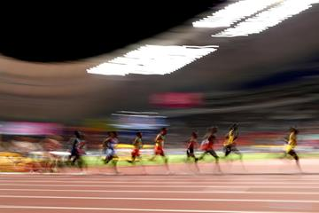 Action in the men's 10,000m final at the IAAF World Championships Doha 2019 (Getty Images)