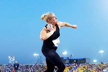 Swedish shot putter Fanny Roos (Getty Images)