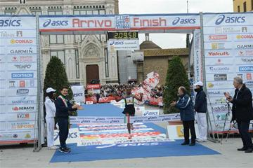 Negesse Shumi breaks 2:10 in Florence (Florence Marathon organisers)