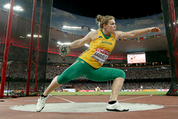 Dani Samuels in the discus at the IAAF World Championships Beijing 2015 (Getty Images)
