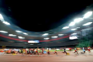 The men's 10,000m at the IAAF World Championships, Beijing 2015 (Getty Images)