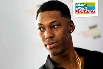 Cuban long jumper Juan Miguel Echevarria (Philippe Fitte)