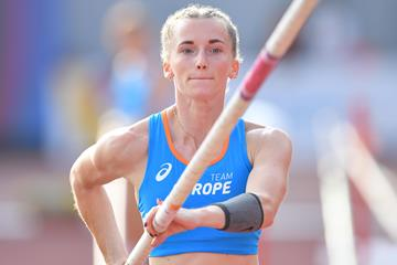 Continental Cup pole vault winner Anzhelika Sidorova (Getty Images)