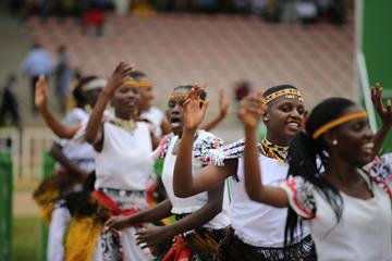 Opening ceremonies at the IAAF World Cross Country Championships Kampala 2017 (Roger Sedres)