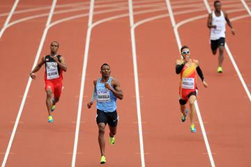 Isaac Makwala in the 400m at the IAAF World Championships London 2017 (Getty Images)