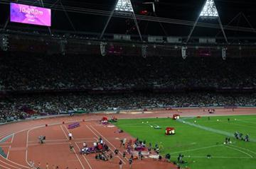 A general view during the evening session on Day 7 of the London 2012 Olympic Games at Olympic Stadium on August 3, 2012 in London, England (Getty Images)